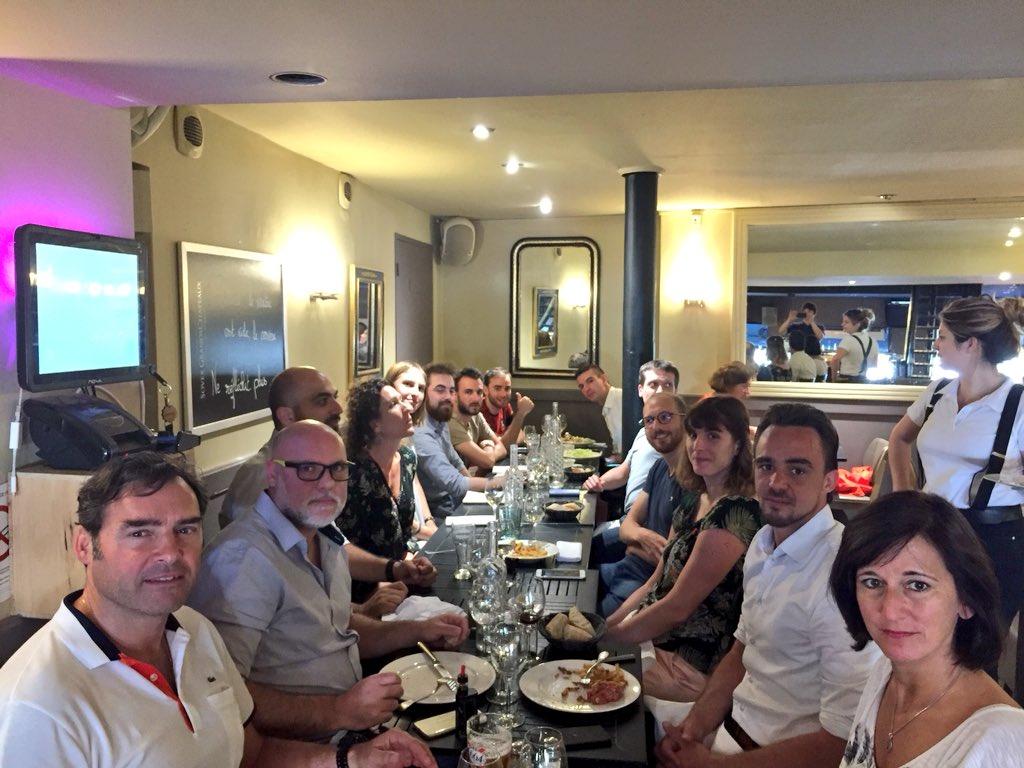 Aujourd'hui c'est le #déjeuner estival des #startup de #LaSource 💧! Déjà 10 entreprises réunies depuis janvier 🤩🚀 #frenchtech #Bordeaux