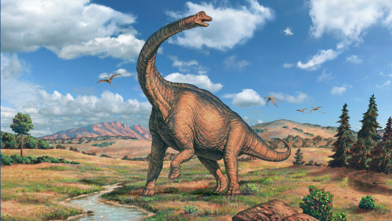 картинки большого динозавра засаливается