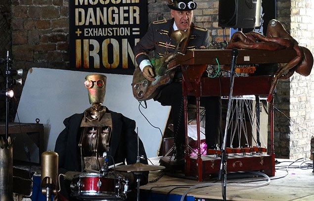 #Event Awesome of the Day: #Steampunk ⚙️ Weekend (July 14-15, 2018) at @BlaenavonIron in #Blaenavon #Wales #UK 🇬🇧 via @geeksinwales #SamaEvent 📌