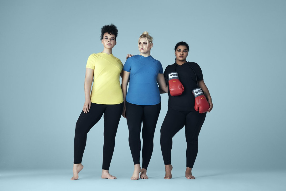 652fde9ee5 ... plus-size women wear men s activewear because they can t find options  from women s brands. ...