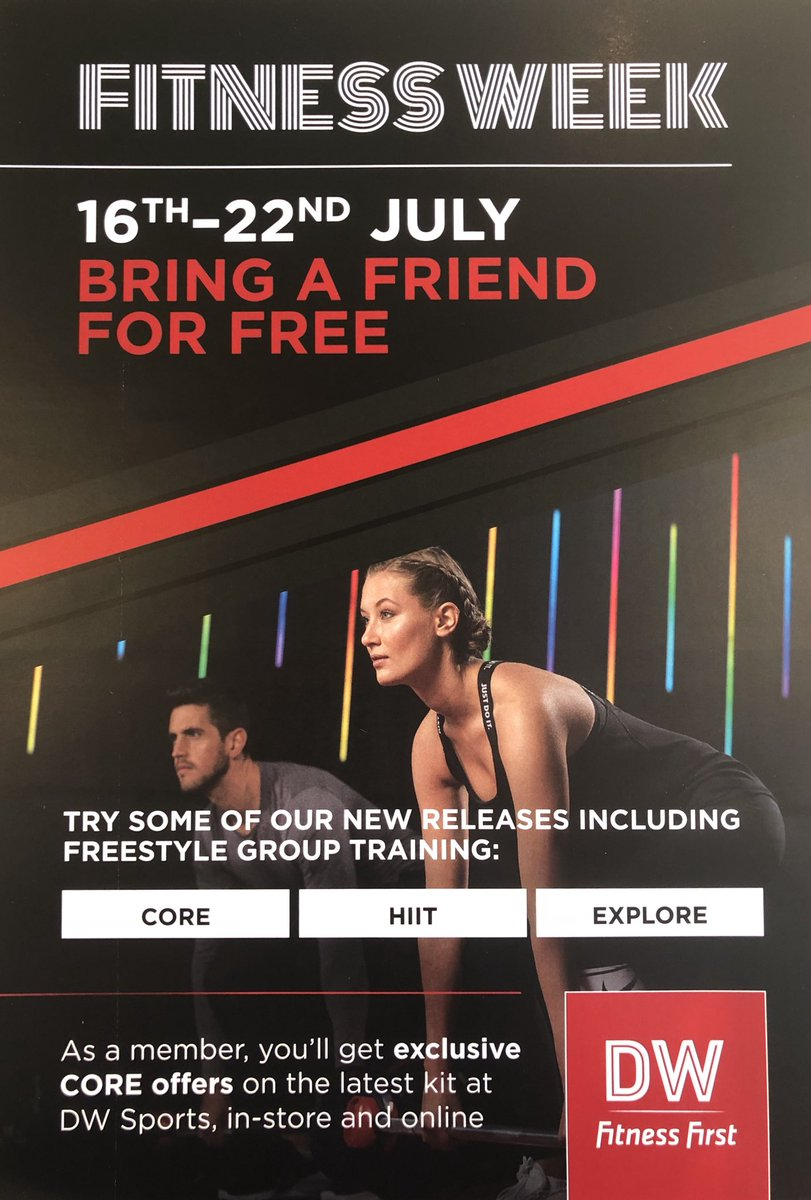 DW Fitness First Dunstable (@DWFF_Dunstable) | Twitter