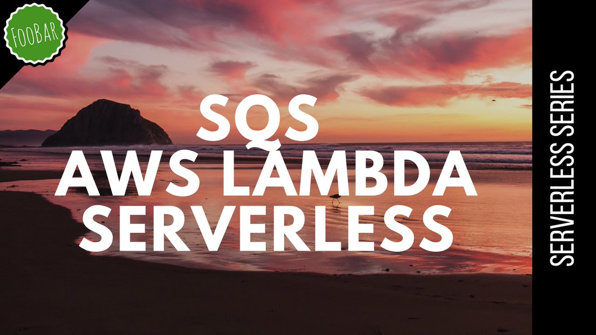 New video is out! Triggering a AWS Lambda with SQS and Serverless Framework   Check it out:  https:// buff.ly/2zpD1tk  &nbsp;    #aws @awscloud #cloudcomputing  #serverless @goserverless<br>http://pic.twitter.com/6fV1yq73C6
