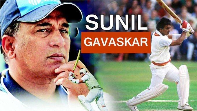 What a player sunil Gavaskar Wishing you very happy Birthday