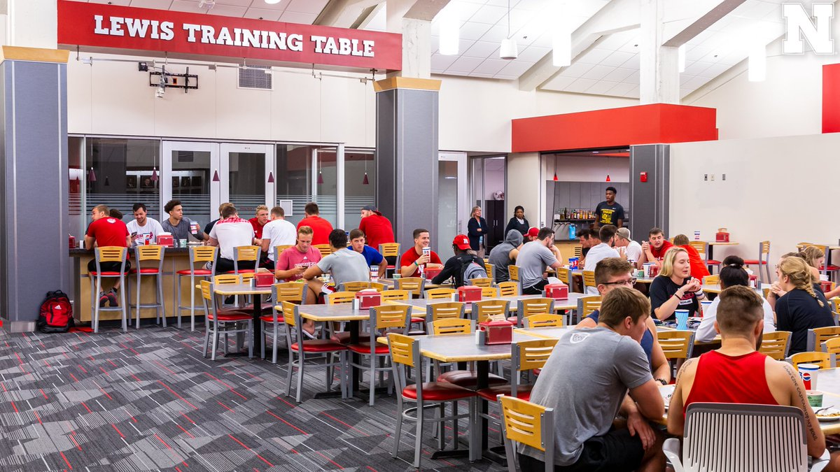 Nebraska Football On Twitter GET FUELED UP Training - Training table restaurant