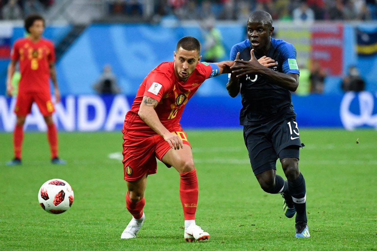 Франция - Бельгия 1:0. Исход равной игры решило умение подать угловой - изображение 1