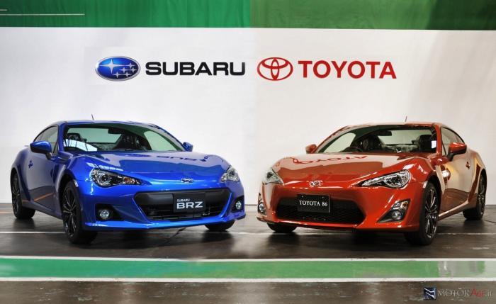 test ツイッターメディア - 【トヨタ86/スバルBRZ】 2012年に発売された、トヨタ/スバル共同開発のスポーツカー。水平対向エンジン+FRで、走って楽しいスポーツカーでゲソ! https://t.co/AF4fSKX1rT