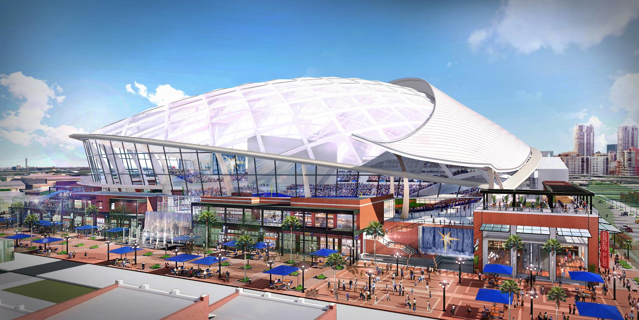 Tampa Bay's future ballpark. https://t.co/d1hyjfsnxK    #RaysUp https://t.co/jPDlNDD6cs