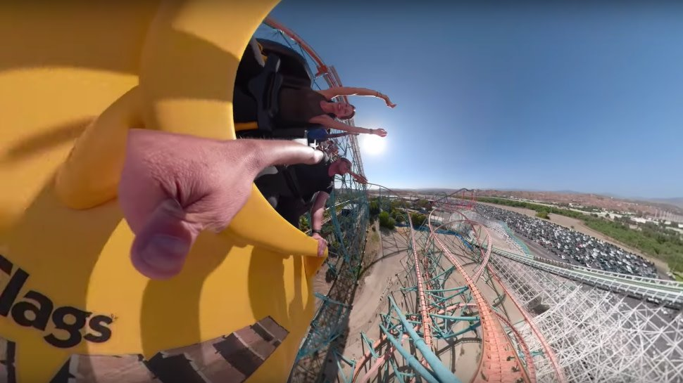 This #GoPro roller coaster video has us feeling ��. Watch: https://t.co/0OqjdchBNd https://t.co/rBBl6kExOb