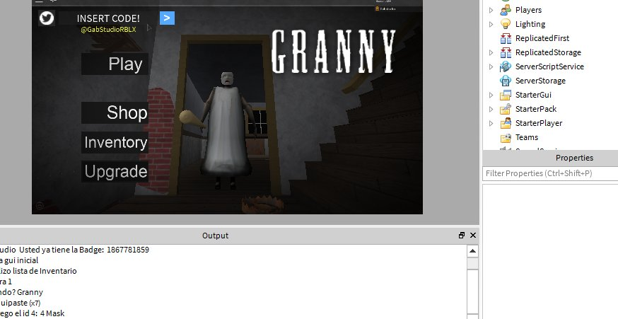 New Granny Codes Roblox Gab On Twitter Roblox Robloxdev Granny Coming Soon 3