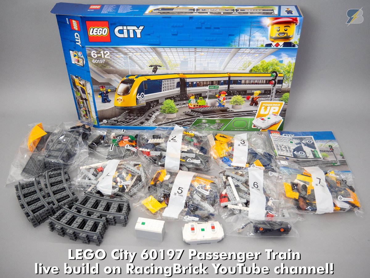 Racingbrick On Twitter We Are Building Live The Lego 60197 Ir Remote Control Checking Uses Bluetooth Connection Instead Of Old Check Out Stream Https Youtubecom Watchvdvtiu7dyqtm