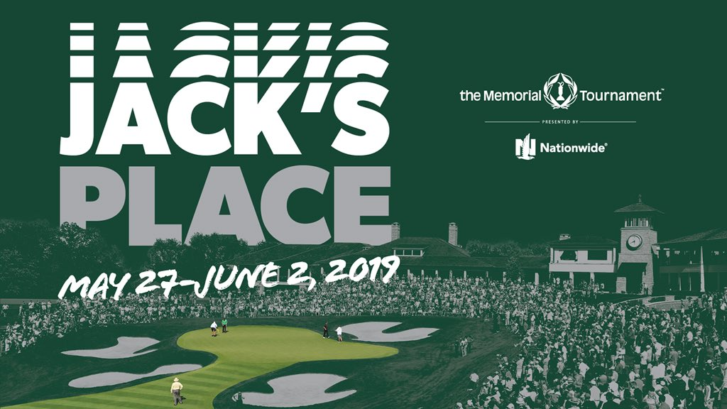 It's official! The 2018-2019 @PGATOUR schedule is out! Don't miss another exciting week at Jack's Place May 27 - June 2. #theMemorial