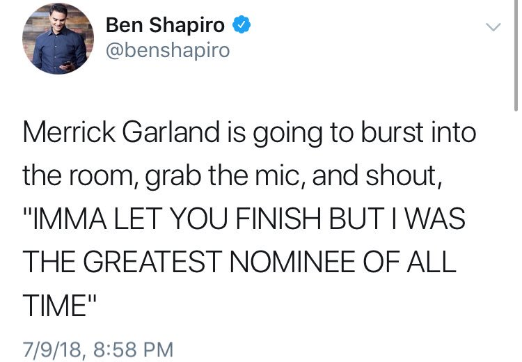 """Why aren't there more conservative comedians?"" https://t.co/ZCGAtKade8"