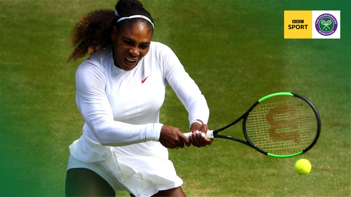 She's back in it!  Serena Williams takes the second set to level things with Camila Giorgi.  LIVE https:// bbc.in/2m9UE6S  &nbsp;    @BBCOne  #bbctennis #wimbledon <br>http://pic.twitter.com/yFssnqG1y0