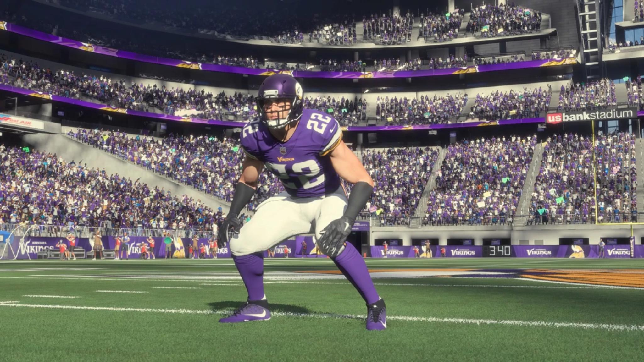 .@HarriSmith22 (97 overall) is the top-rated Viking in #Madden19.   ��: https://t.co/nBIa76QNPN https://t.co/Zrs3CaZa9n