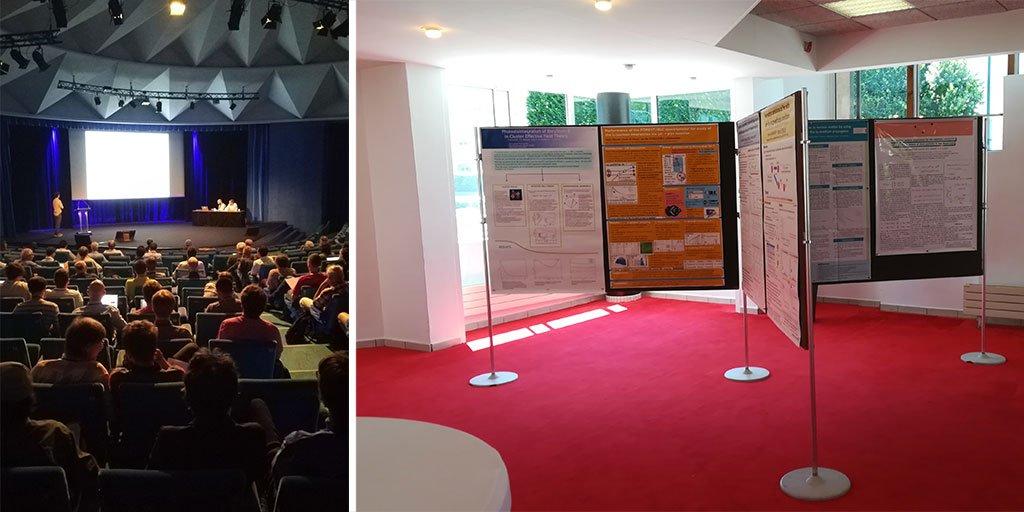 La conférence #FB22 accueille une communauté internationale de physiciens au #CentredeCongrès #Caen. Pour sa première édition en France, plus de 30 nationalités sont représentées parmi les 275 congressistes réunis autour de la thématique de la physique corpusculaire https://t.co/dtELSiSqGK