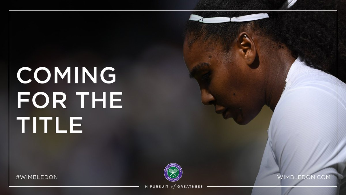 Make that 19 matches unbeaten at #Wimbledon   @serenawilliams advances to the semi-finals after beating Camila Giorgi 3-6, 6-3, 6-4 <br>http://pic.twitter.com/9DTKBTykZq
