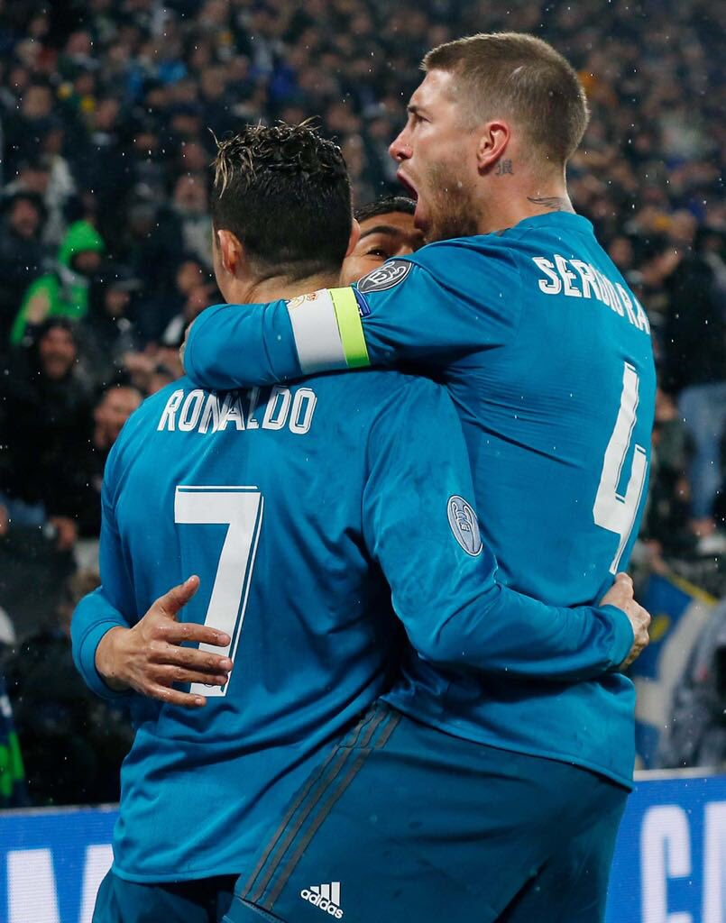 .@Cristiano, your goals, your numbers and everything we've won together speak for themselves. You have  earned a special place in the history of @realmadrid. As Madridistas we'll remember you always. It's been a pleasure to play alongside you, bicho. Big hig and good luck! 🍀👍🏻