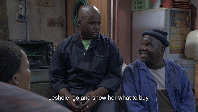 Tonight on #SkeemSaam A woman makes Big Boy weak in his knees. 🥰 @SABC_2 Photo