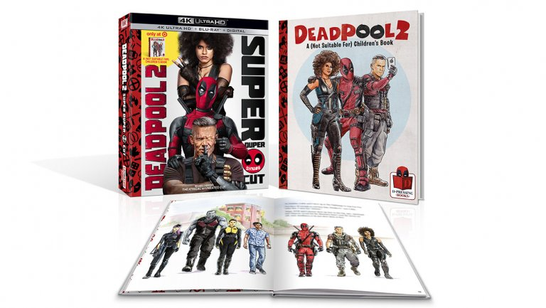 Raunchy #Deadpool2 children's book coming with Blu-ray https://t.co/E9AVC172Lp
