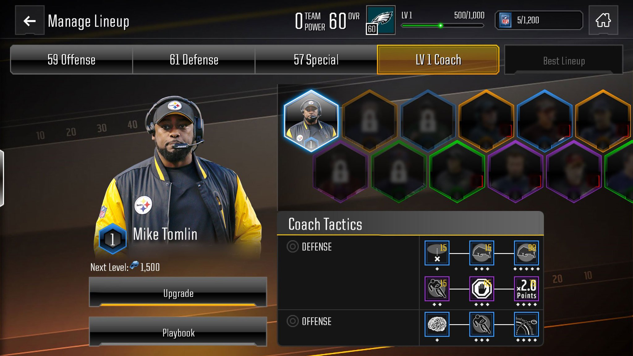 EA post of the Coaching Screen for Overdrive - DISCUSSION - Madden NFL  Mobile Discussion - Madden NFL Mobile - Madden NFL 19 Forums - Muthead f93db3ab4