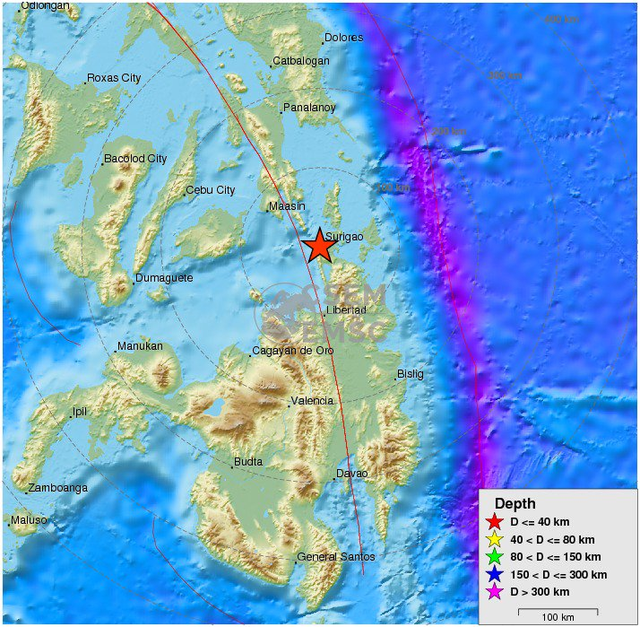 moderate #earthquake shakes #Mindanao, #Philippines 7 min ago. More info at: https://t.co/EluOXQDDoH