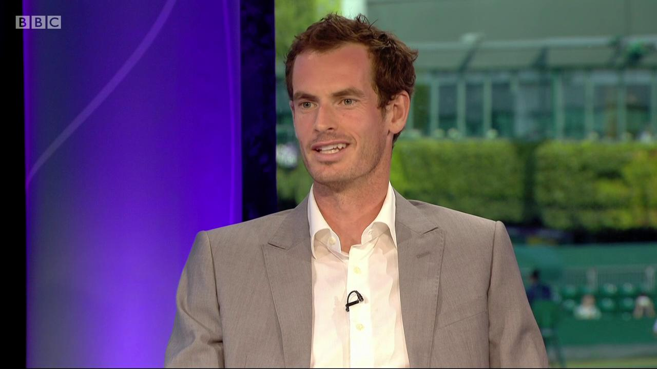 So... does Andy Murray watch Love Island?  #bbctennis #wimbledon https://t.co/qv1gSnD1Sz