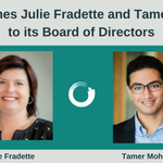 Image for the Tweet beginning: Welcome Julie Fradette and Tamer