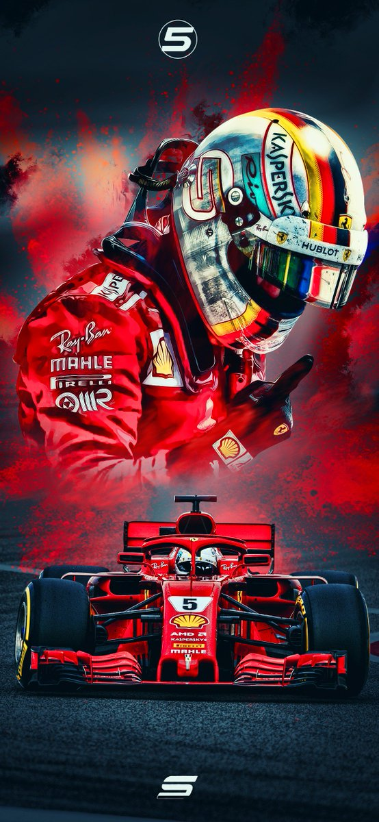 sevigraphics on twitter sebastian vettel 2018 wallpaper. Black Bedroom Furniture Sets. Home Design Ideas