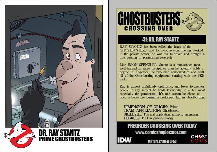 Dr. Ray Stantz