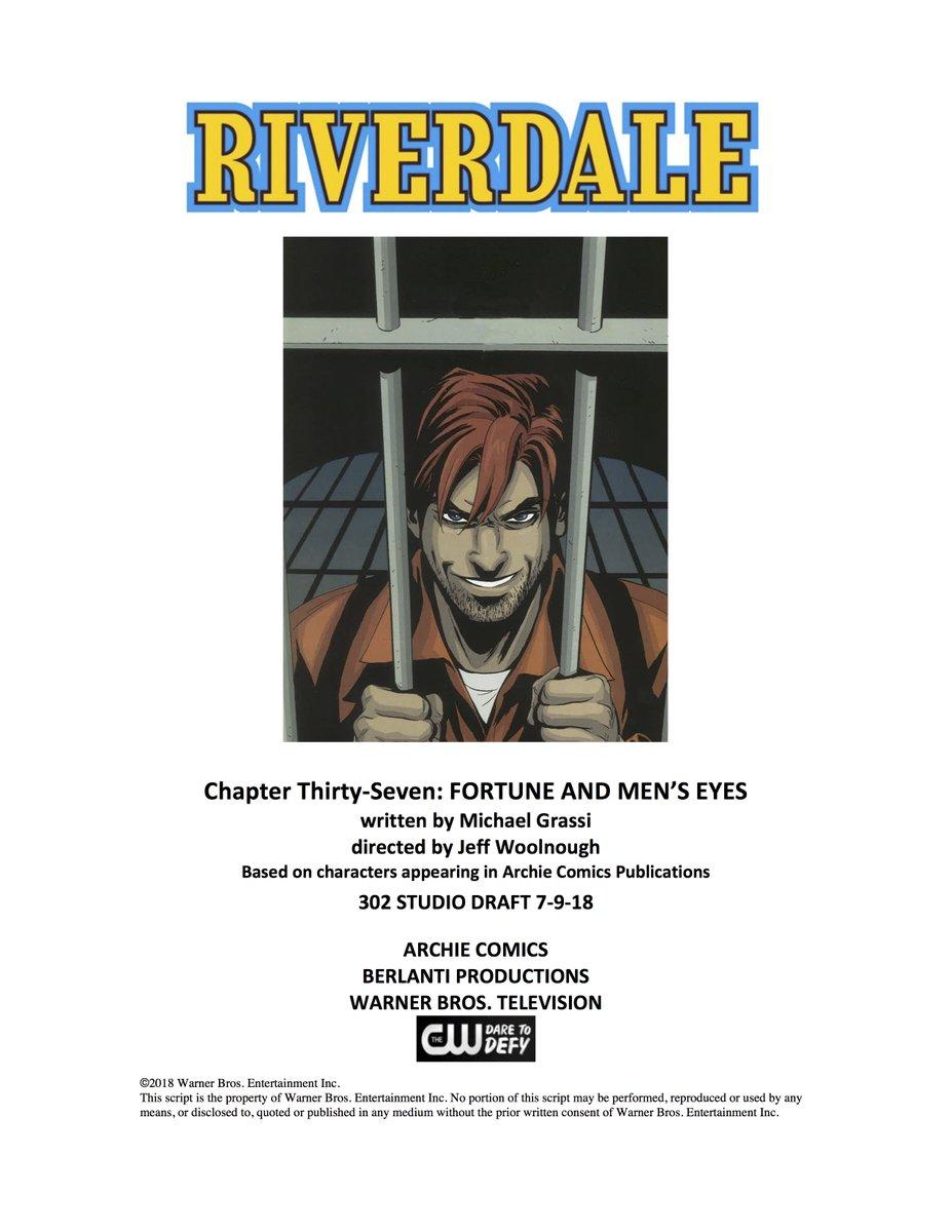And here we go, Episode 302 of #Riverdale is about ready to get out of the gate!