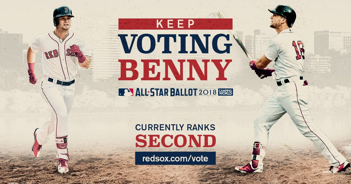�� BENNY IS IN SECOND ��  YOU. MUST. KEEP. VOTING.  #VoteBenny: https://t.co/TNu271yiIB https://t.co/I55A1GG47d