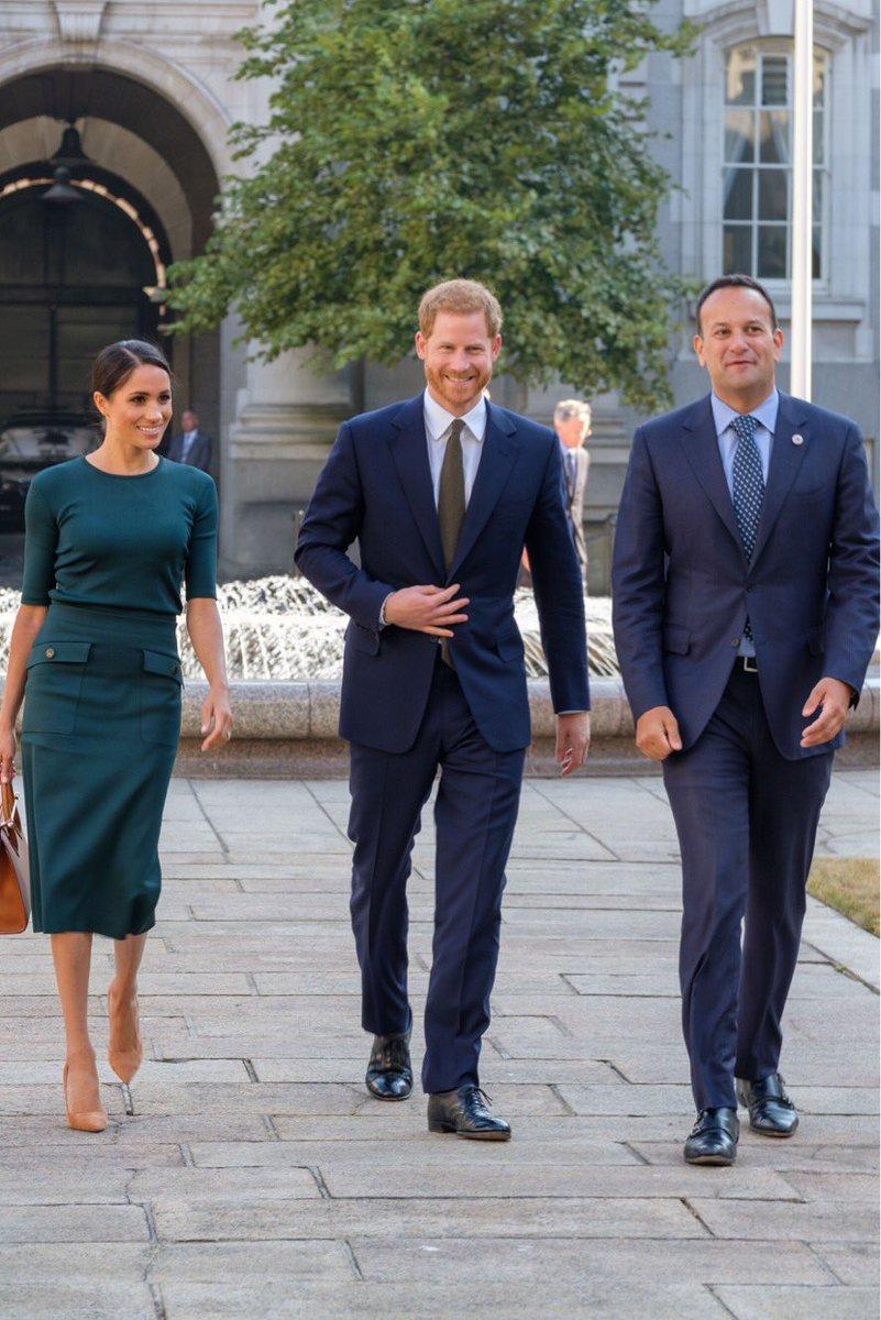 Визит герцога и герцогини Сассекских в Ирландию. День 1