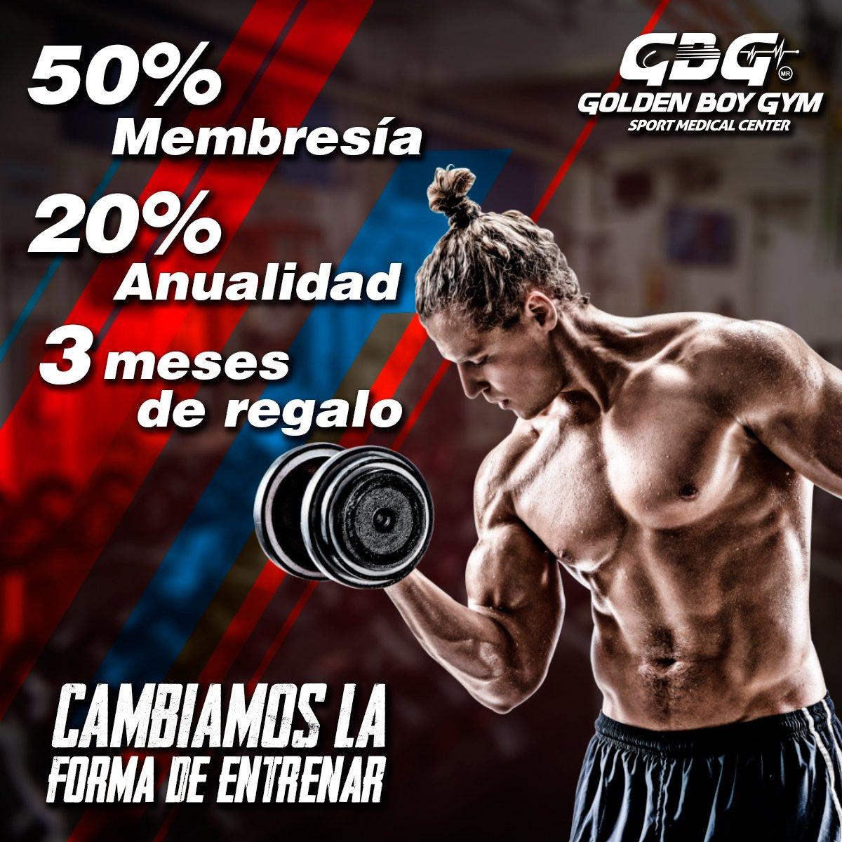 50% en tu membresía 20% en tu anualidad 3 meses de regalo #CambiamosLaFormaDeEntrenar  *Aplica a restricciones *Tel: 52430169 https://t.co/NA6EJqAXbq