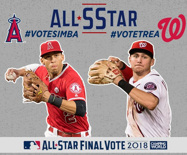 Unlimited. Online. Voting.   1⃣ Go to https://t.co/94Tjblm7Np. 2⃣ #VoteTrea 3⃣ #VoteSimba 4⃣ Repeat https://t.co/aOsCq5MTUP