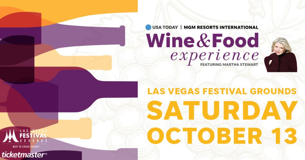 Image result for The Martha Stewart Wine & Food Experience las vegas