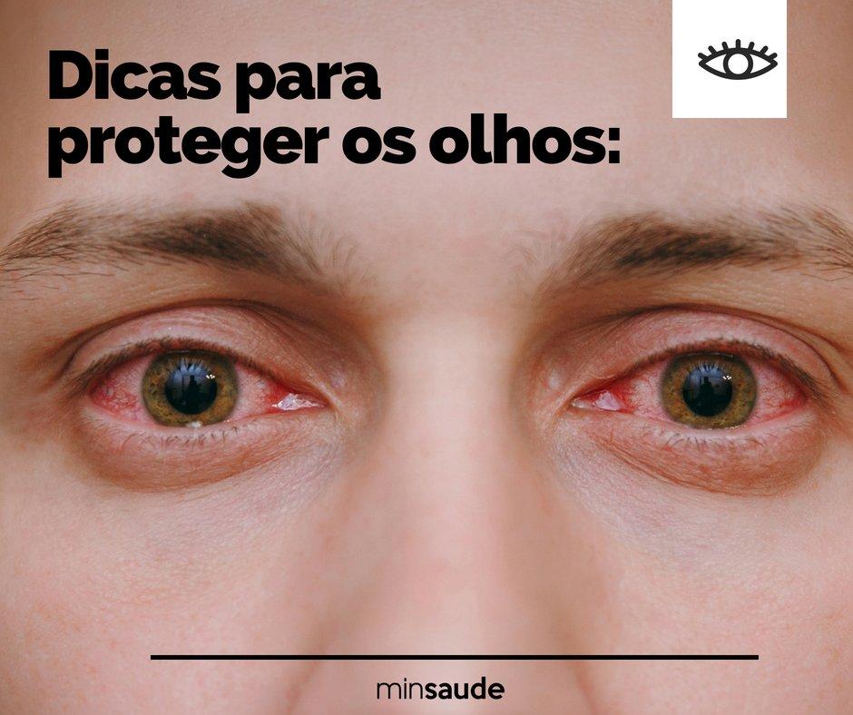 No Dia da Saúde Ocular, confira algumas dicas de como proteger seus olhos.   SaúdeDosOlhos pic.twitter.com 4ngUjedTlA 4da5a95050