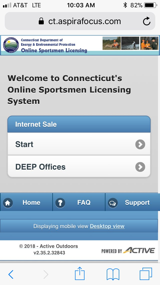"""ct deep fisheries on twitter: """"ct fishing licenses are online at"""