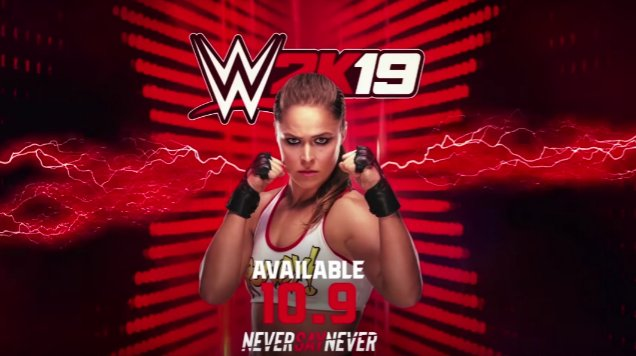 .@RondaRousey is joining the #WWE2K19 (@WWEgames) roster as a preorder character: goo.gl/aer2Ar