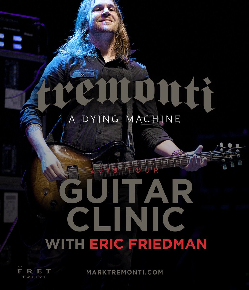 Tremonti On Twitter Europe Limited Meet And Greet Clinics