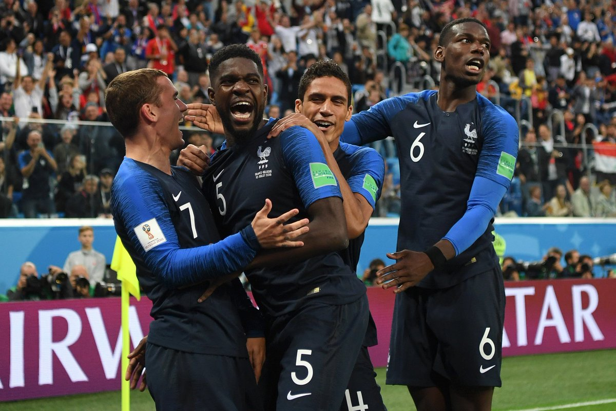 Cnn Sport On Twitter Umtiti Pavard And Varane Have All Found The Net At Russia  The Last Time Three Defenders Scored For France In The Same World