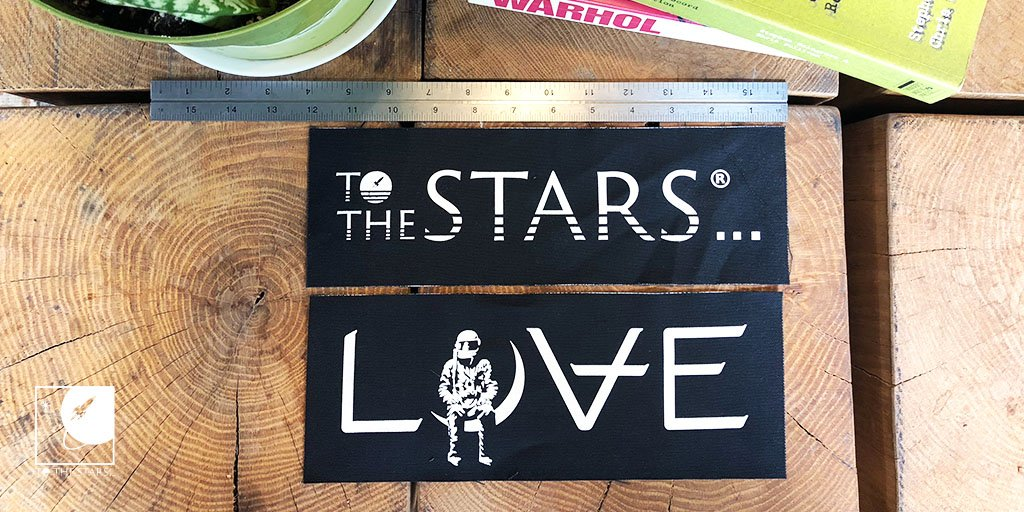 At Toms request, we made new large printed patches so he could put them on his jackets... And we figured you would want to too! Get your #Love Movie or Text Logo patch now! tothestars.media/collections/ac…