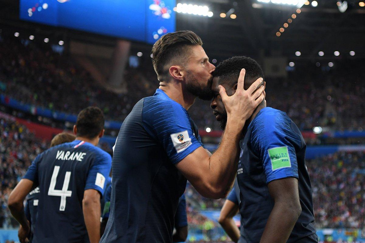 France 1, Belgium 0