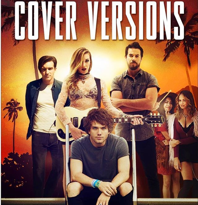 Cover Versions is out on @hulu today! Get your stream on!! @wearestarfoxy @DebbyRyan @jerrytrainor @DrakeBell @austinkingsleyswift
