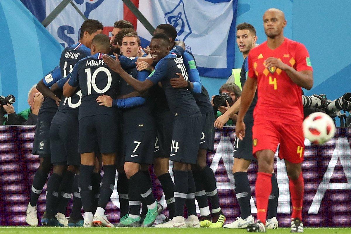 المنتخب الفرنسي إلى نهائي كأس العالم 3