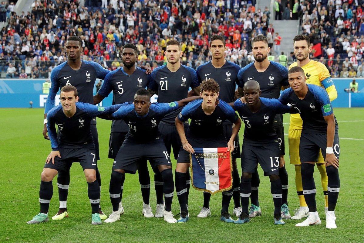 المنتخب الفرنسي إلى نهائي كأس العالم 2