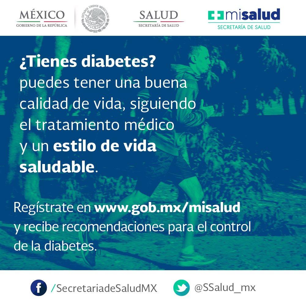 secretariado de salud mexico tratamiento de diabetes