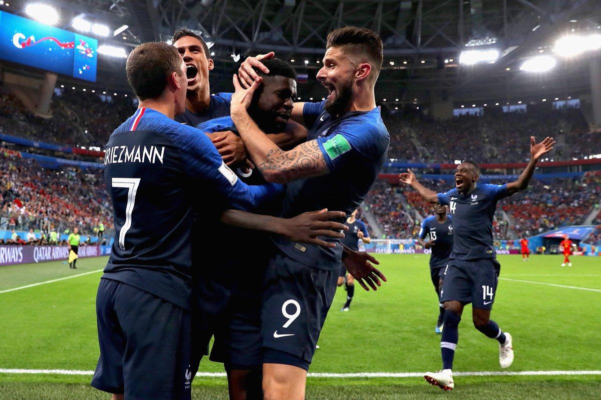 Франция - Бельгия 1:0. Исход равной игры решило умение подать угловой - изображение 3
