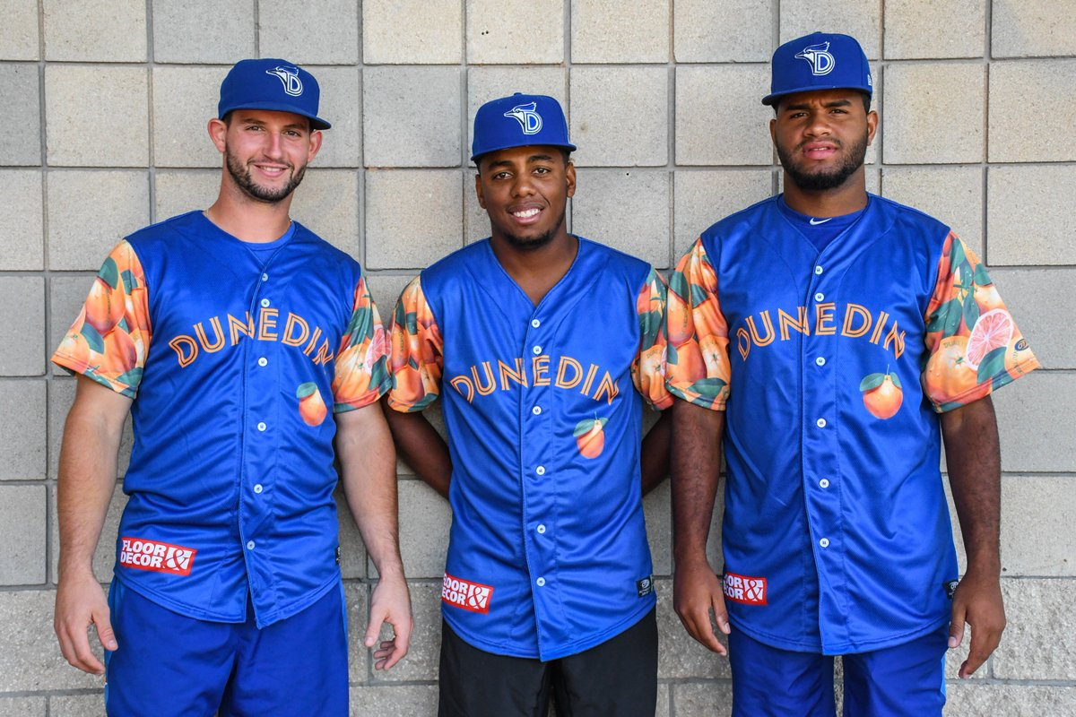 87988f761 Get tickets to the game and bid on your favorite player s game worn jersey  here  https   www.milb.com dunedin events orangejerseys …pic.twitter.com   ...