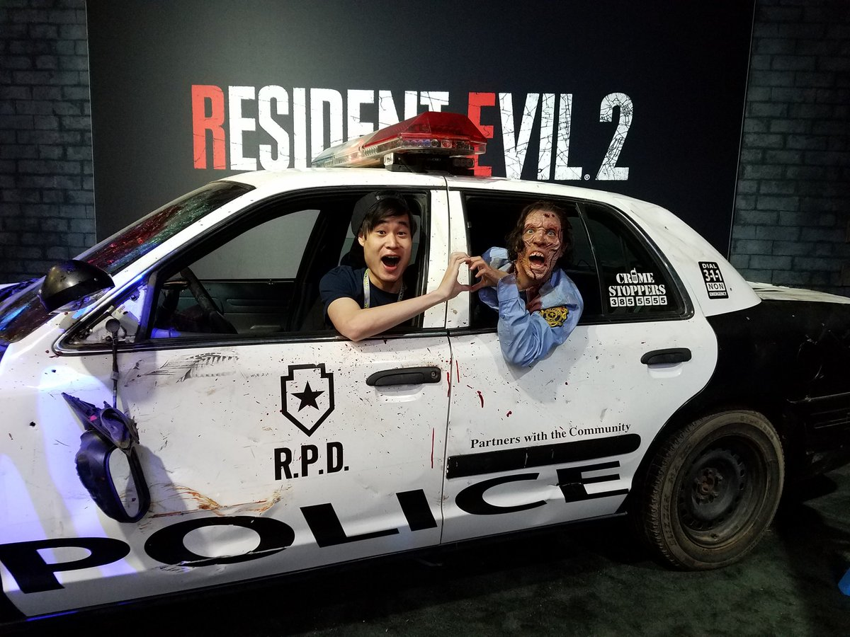 The Raccoon City Police Department will be at #SDCC2018! Bring your best Resident Evil cosplay to the Capcom booth – Raccoon City is dying to see you!