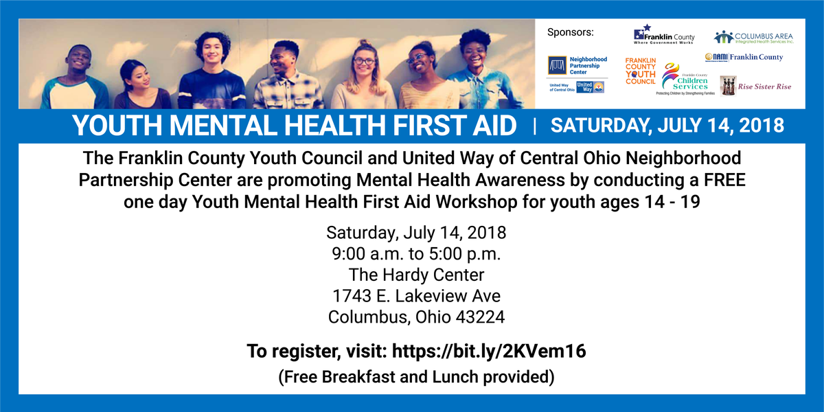 United Way Of Central Ohio On Twitter Do You Know A Teen Whod Be